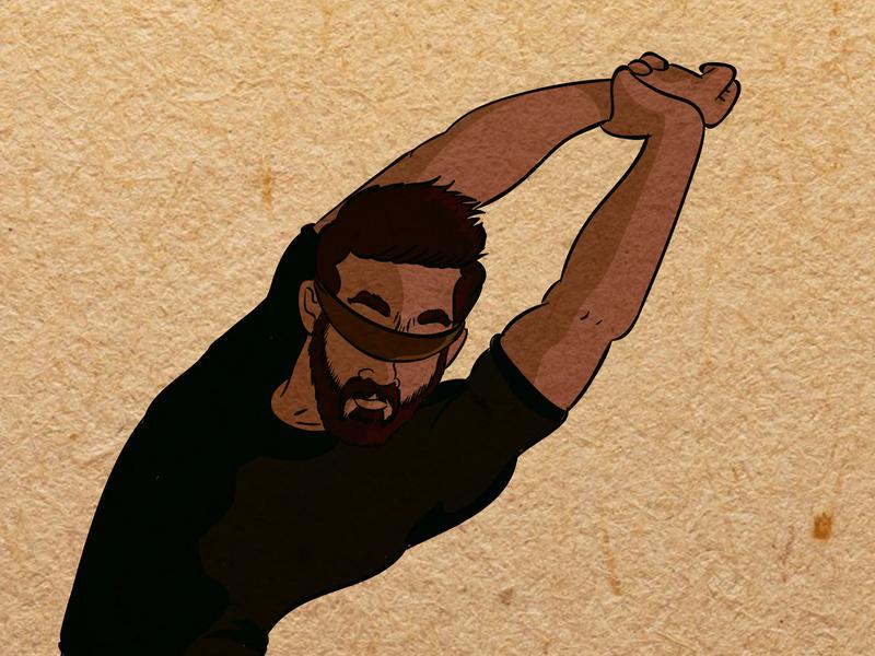 feels like i'm flying vector design character creation illustration
