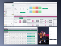 Dashboard for betting company