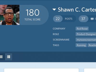 RR Profile profile people tags toggle