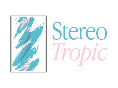 Stereo Tropic Logo macintosh mac artist band music hip hop chill vaporwave retro 90s