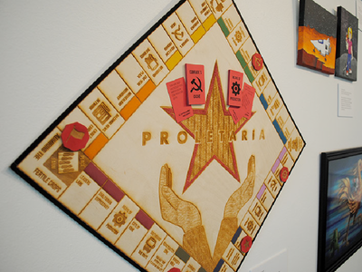 Proletaria the Satirical Socialist Boardgame