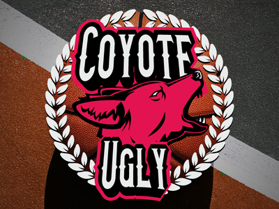 Coyote Ugly - Invasion Championship Wrestling Event Logo event pro wrestling kelowna logo sports basketball red coyote ugly okanagan coyote wrestling