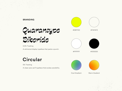 Out Loud! Branding color palette color playful