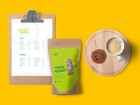 The Catfé Branding