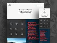 Evan Thomas Cole Website 2017