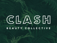 Clash Beauty Collective brand logo branding