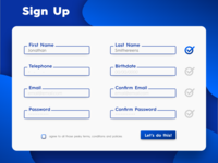 Signup daily UI 001 signup sketch ui