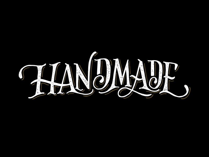 Handmade Lettering illustration lettering bar handlettering