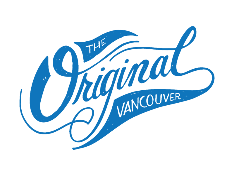 Original Vancouver original vanwa vector illustration handlettering lettering city washington state washington vancouver