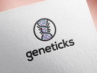 Geneticks -  Logo design