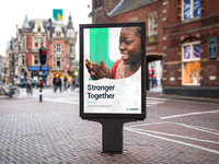 """""""Stronger Together"""" Ad concept"""