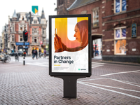 """""""Partners in Change"""" Ad Concept"""