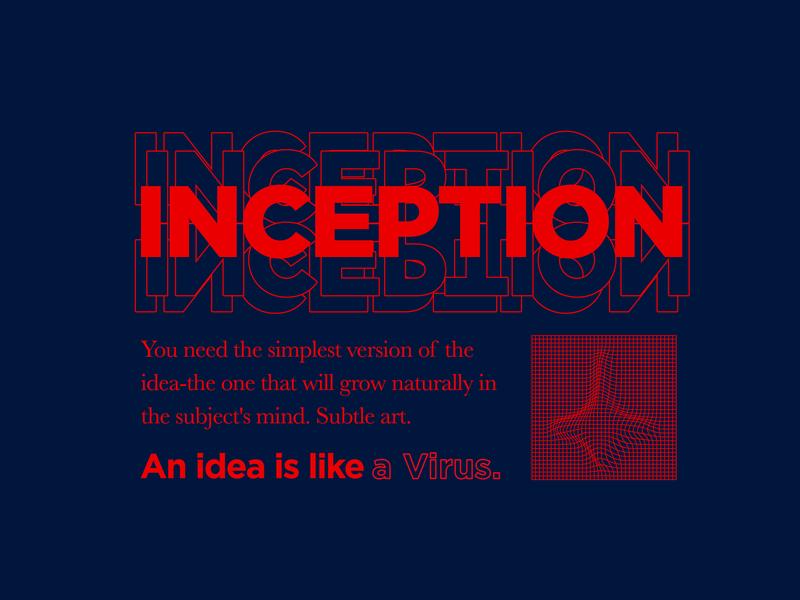 An Idea Is Like A Virus