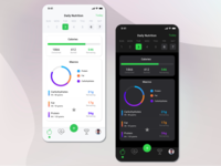 Daily Nutrition | Light and Dark Mode