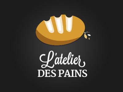 L'atelier des pains - Logo logo bakery vector bread