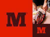 Meat & knife | Logo