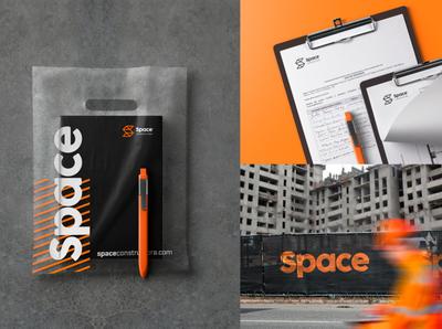 Space | Branding construction space illustration logotipe logo peru brand branding