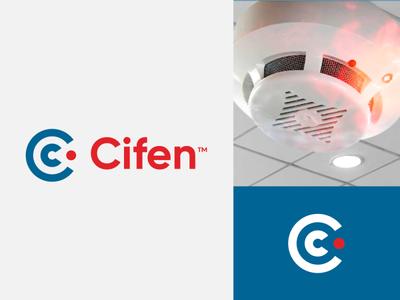 Cifen lettering peru c logo c letter letter branding illustration brand logotipe logo