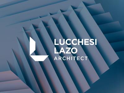 LUCCHESI Architect peru art direction innovation modern personal brand personal logo architect letter l letter typography logotipe vector anagram branding brand logo architecture