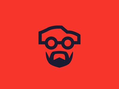 Mr. Fierro personal branding anagram illustration branding brand racing automobile face red cars auto icon logotipe isotype logotype logo
