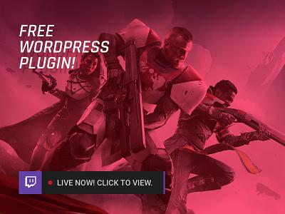 Stream Status for Twitch plugin for WordPress plugin wordpress freebie free twitch
