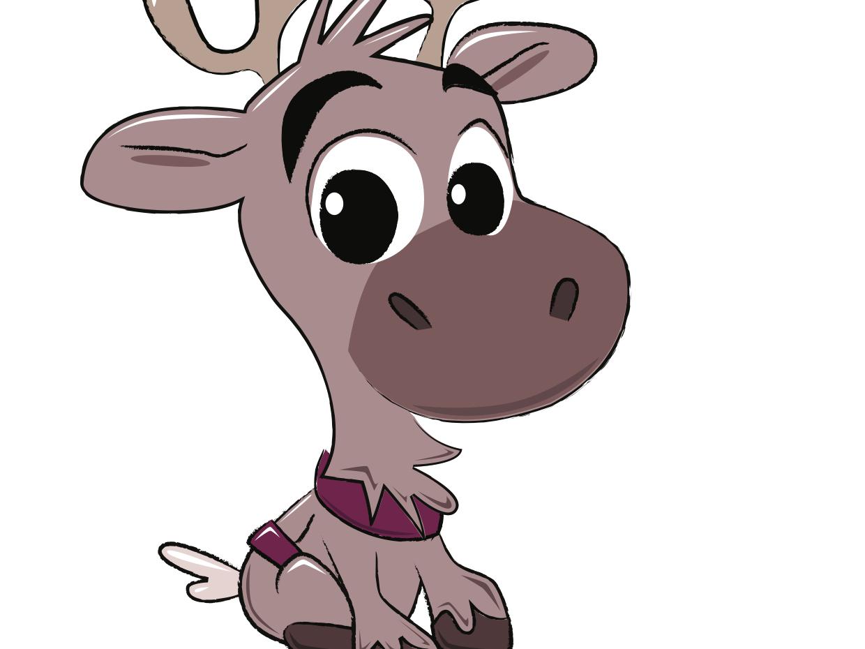 Sven reindeer disney christmas frozen