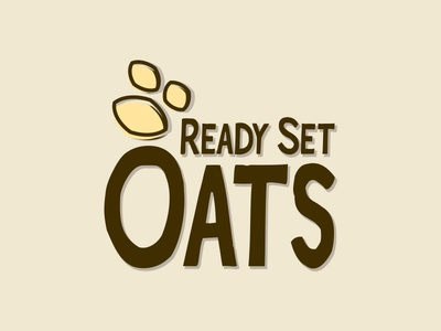 Ready Set Oats logo bar granola
