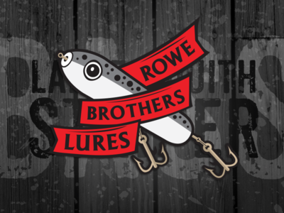 Rowe Brothers Lures logo fishing lures