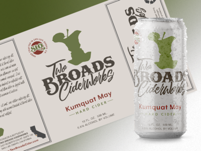 Cider Label Concept logo package design