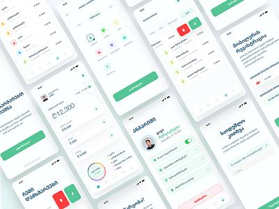 Rveuli app design finance app finance mobile design mobile app design mobile ui mobile mobile app clean design ux ui