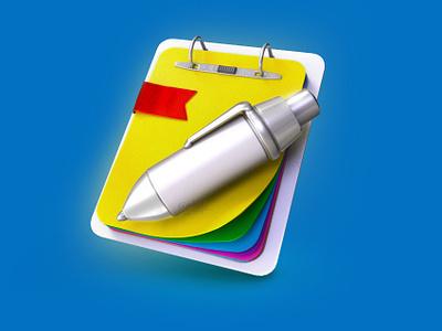 ToDo icon clipboard pen icon 3dicon 3d todo
