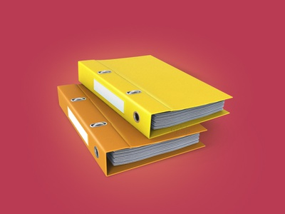 Office folders 3Dicon icondocuments documents paper iconoffice officeicon iconfolder folders icondesigner icondesign illustration icon 3dicon 3d