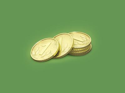 Gold Coin 3Dicon bankaccount bank payment wallet moneyicon coinsicon gold icondesigner icondesign illustration 3dicon 3d icon