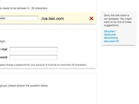 Theming and Validating Registration Form
