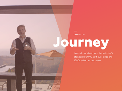 Chapter 1  Intro for Car website animation design web ux ui