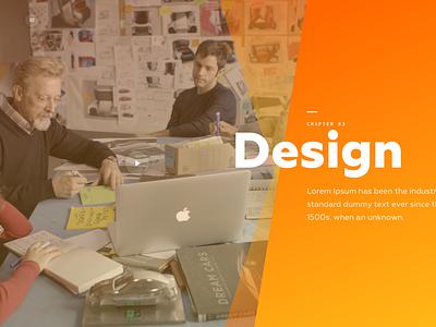 Chapter 3  Intro for Car website typography flat website vector illustration logo animation ui ux web design