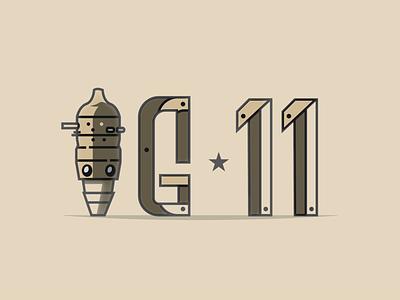 IG 11 - Typography illustrator galaxy starwars lettering droid ig11 mandalorian typographic typogaphy illustration