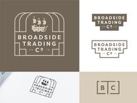 Broadside Trading Co. Branding