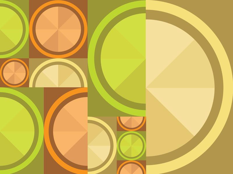 Geometric Fruit Pattern pattern vector orange lime lemon fruit geometric