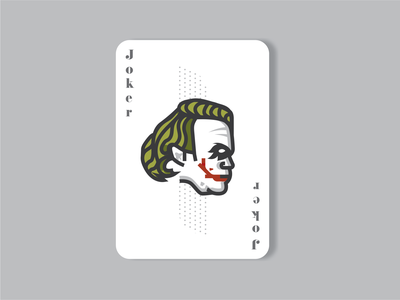 Joker Playing Card - Weekly Warm Up