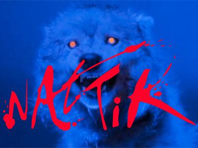 Nattik Identity identity logo hand lettering typography 80s