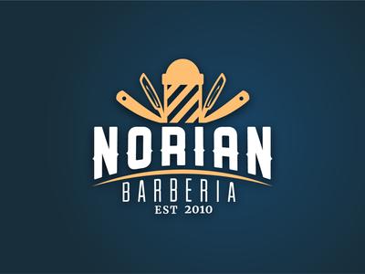 NORIAN - Barbershop logo