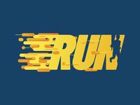 RUN - Running event face