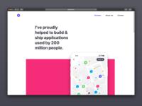 New Portfolio product design website minimalism minimalist portfolio