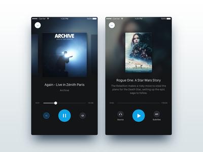Media Player play app music movie player media