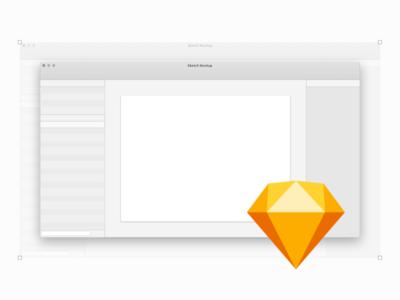 Free Sketch UI Mockup application template window ui app sketch mockup free