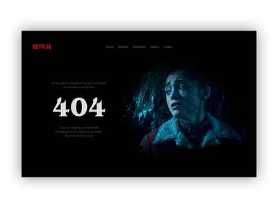 404 Page I Daily UI #008