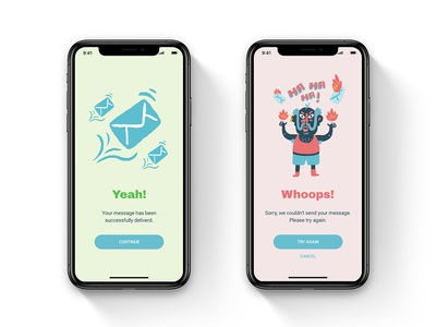 Flash Messages I Daily UI #0011