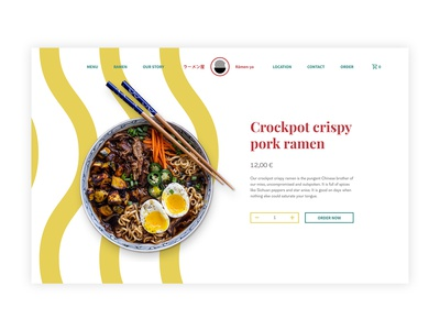 Product Page I Daily UI #0012