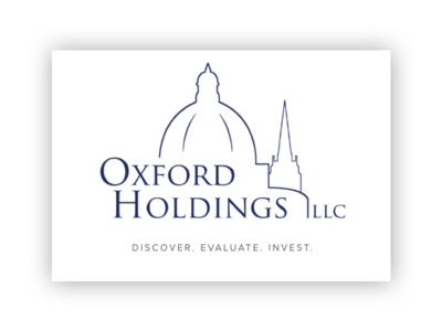 Oxford Holdings Logomark brand identity typography business card branding brand logo oxford